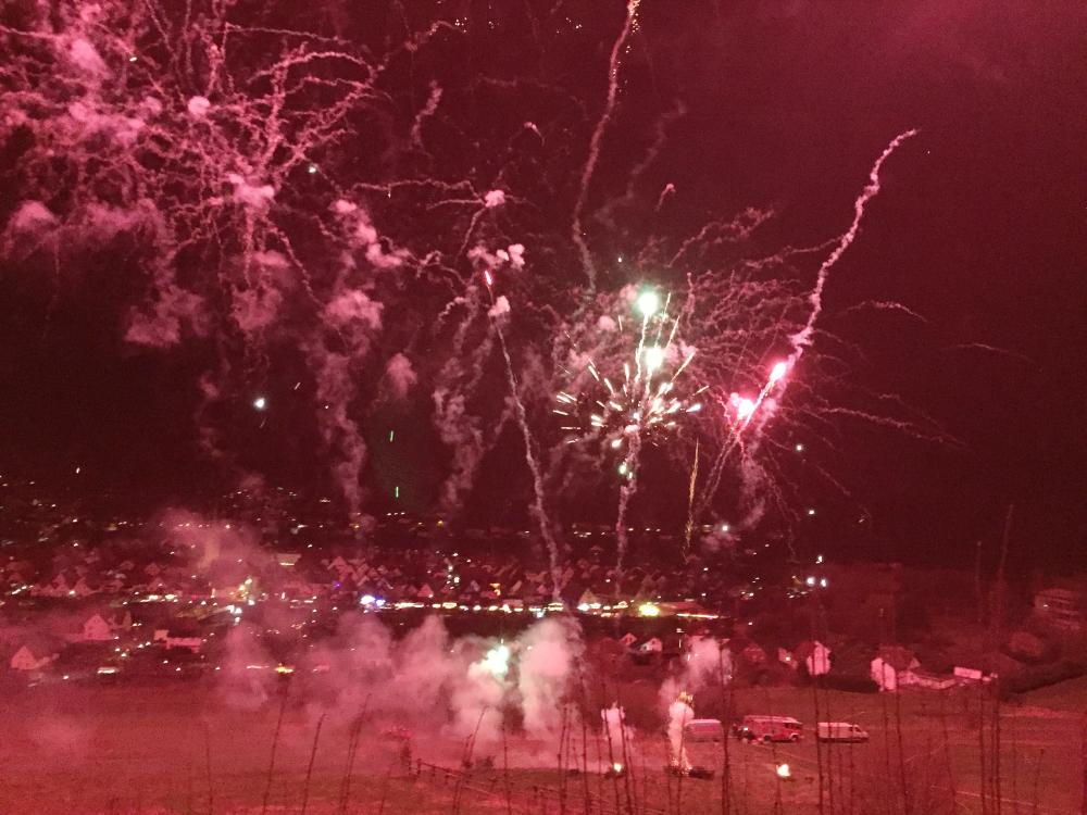 Ein Feuerwerk