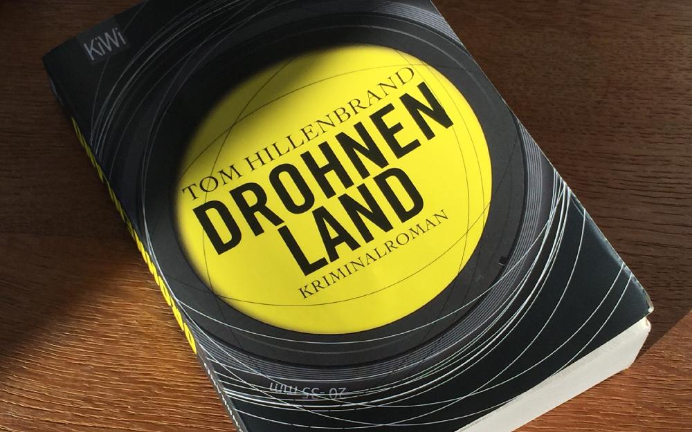 Einband des Romans Drohnenland