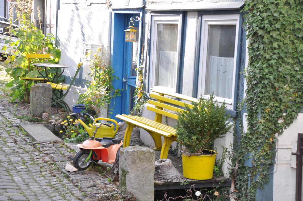 Schwalenberg: Ein winziger Vorgarten