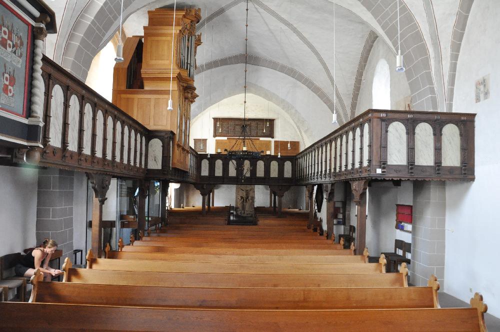 Schwalenberg: In der Kirche