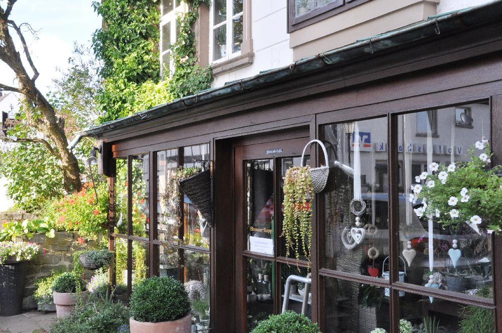Schwalenberg: Ein Blumenladen