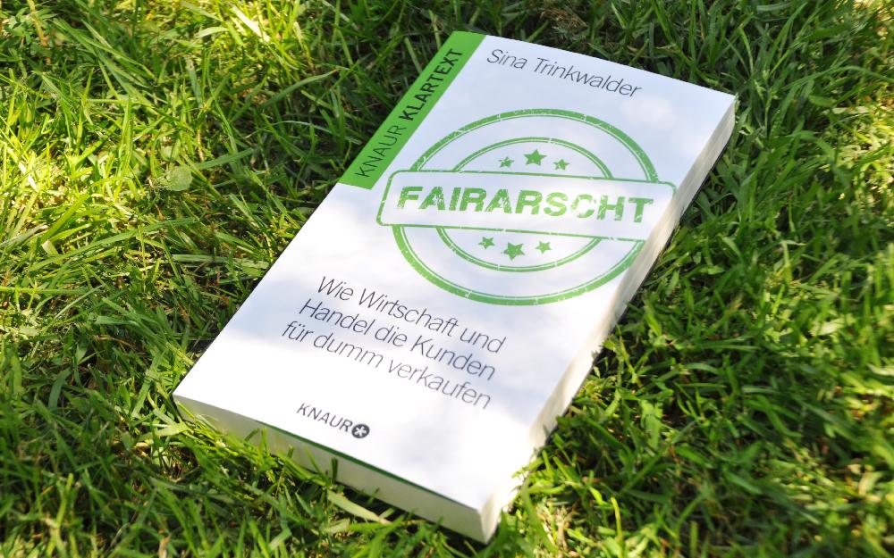 Einbanddeckel vom Buch Fairarscht