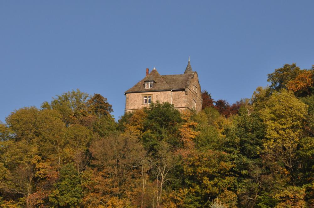 Schwalenberg: Eine Burg auf einem Berg