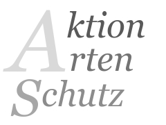 Grafik, Text: Aktion Arten Schutz