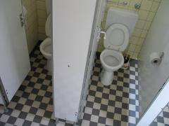 Zwei Toiletten