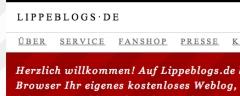 Eine Kopie vom Bildschirm-Inhalt bei Lippeblogs.de