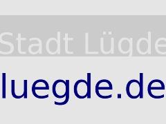 Grafik mit dem Text - Stadt Lügde - luegde.de