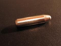 Patronenförmiger Metallgegenstand