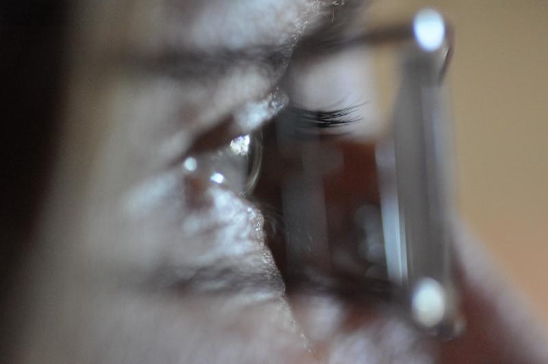 Ein Auge.