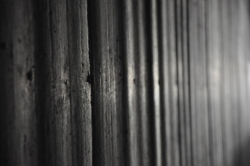 Eine Wand im Tunnel der Umgehungsstraße Lügde.
