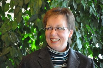 Die Regierungspräsidentin des Regierungsbezirks Detmold, Frau Marianne Thomann-Stahl.