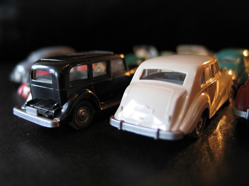 Modelauto von Wiking, Horch