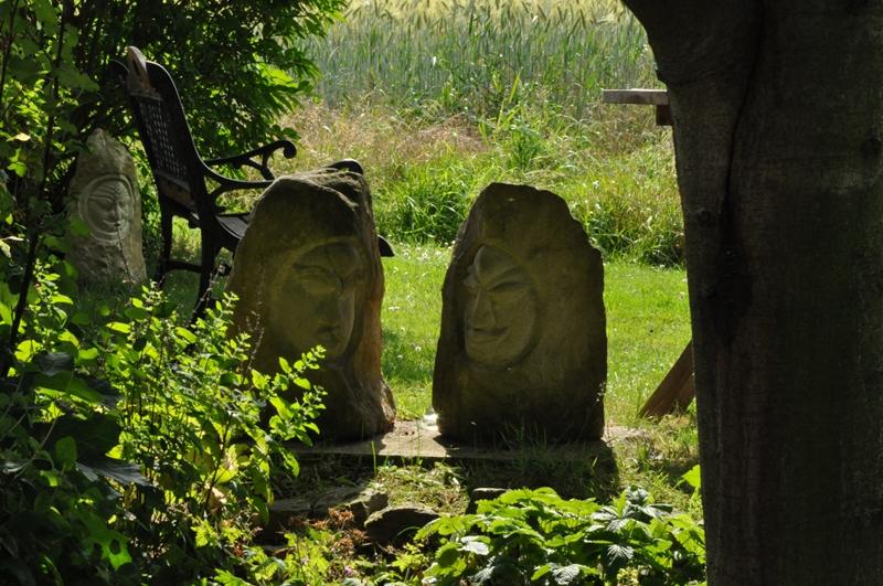 Steinskulpturen von Uwe Burgdorf