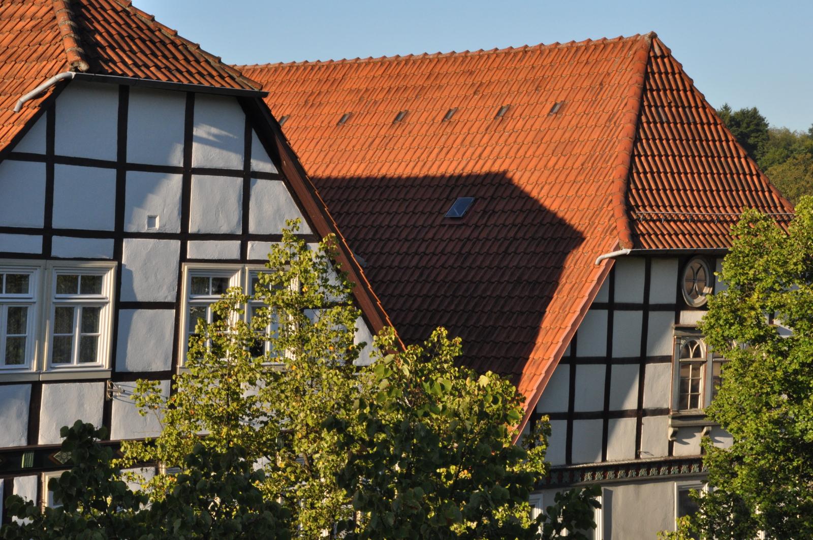 Fachwerkhäuser in Lügde