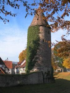 Ein alter Turm.