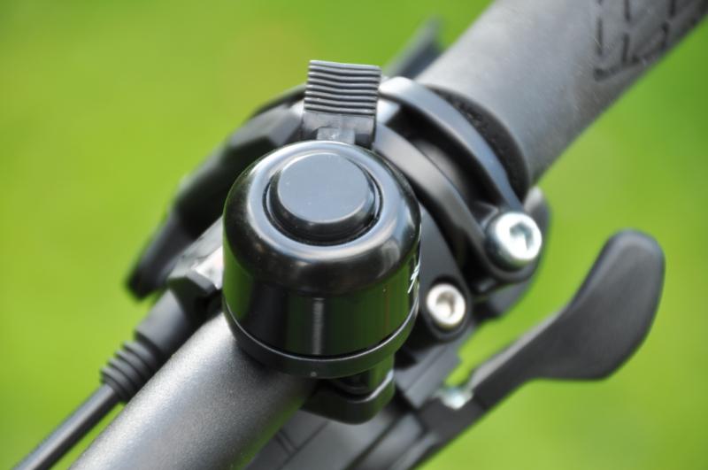 Eine Fahrradklingel