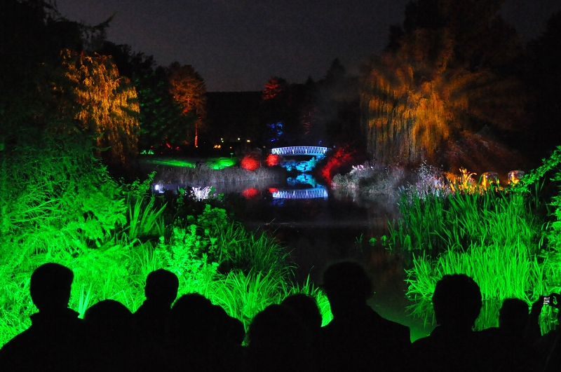 Illumina 2011 im Kurpark Bad Pyrmont: Malerblick